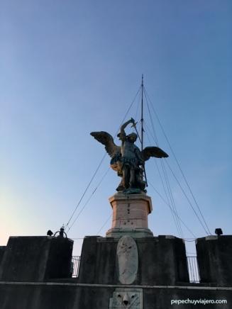 Estatua del Angel