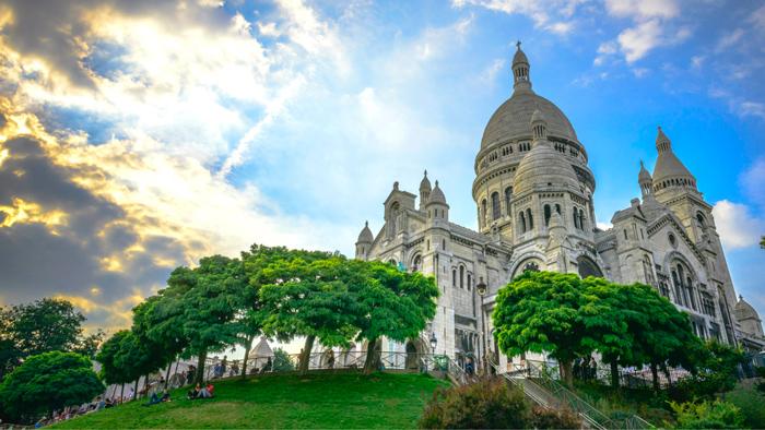 París Basilique-du-Sacré-Coeurch
