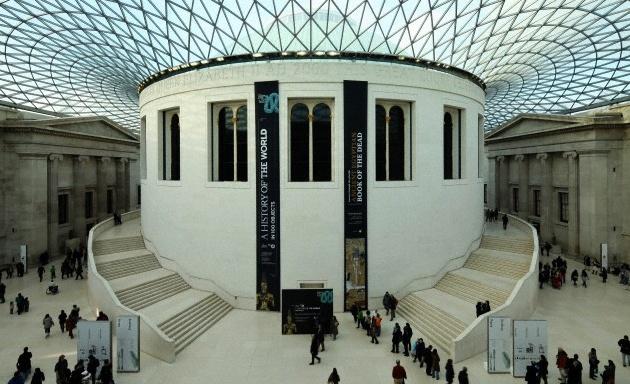 mejores museos: Museo Británico en Londres, Inglaterra2