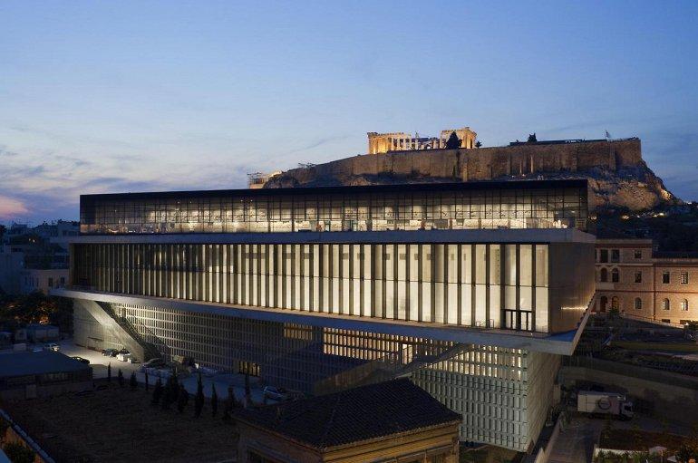 mejores museos: Museo de la Acrópolis en Atenas, Grecia1