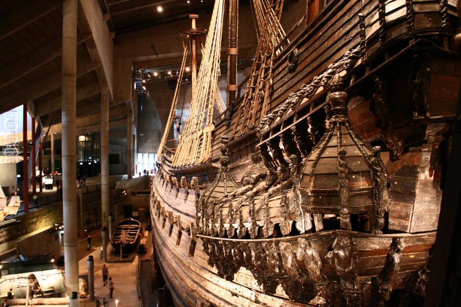Museo Vasa en Estocolmo, Suecia1