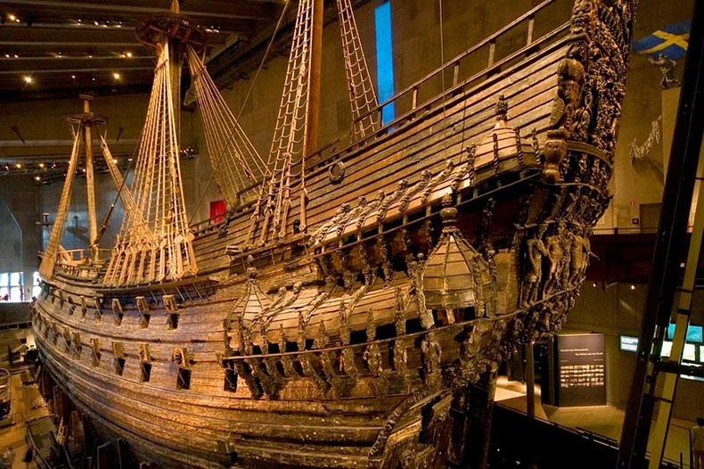 Museo Vasa en Estocolmo, Suecia2